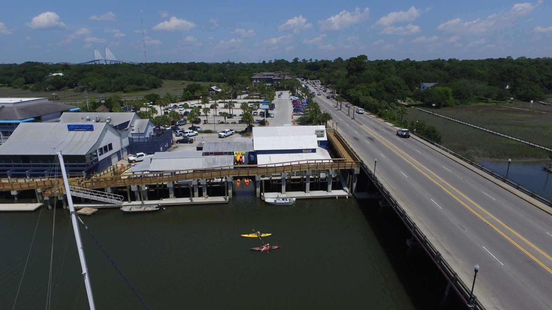 Current View of Shem Creek